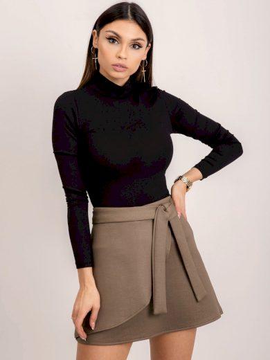Dámská sukně se zavazováním BSL-SD-12781-khaki Velikost: M