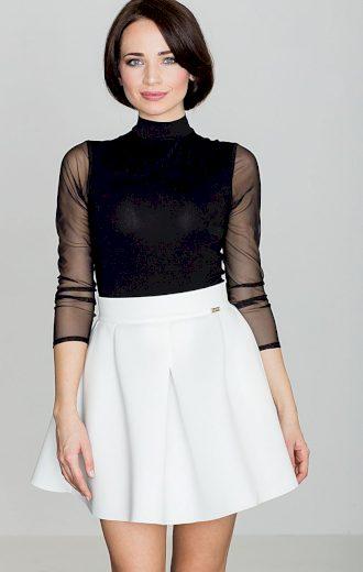 Dámská sukně ve smetanové barvě K228 Velikost: S