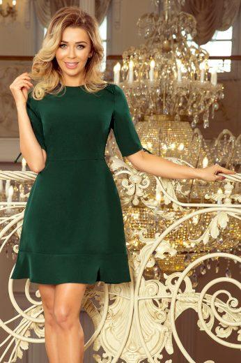 Elegantní zelené šaty GIADA 235-2 Velikost: S