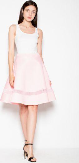 Dámská růžová elegantní sukně VT053 Pink Velikost: L