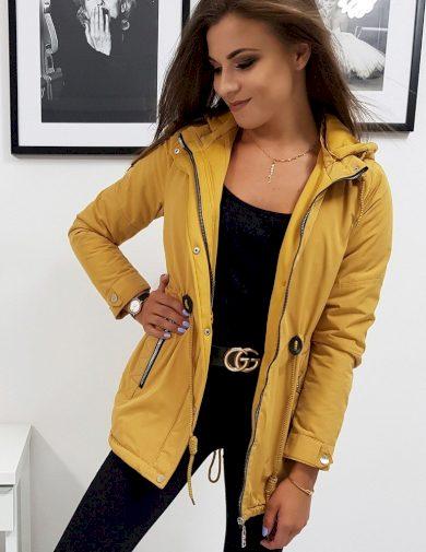 Žlutá přechodová bunda ty0832 Velikost: M