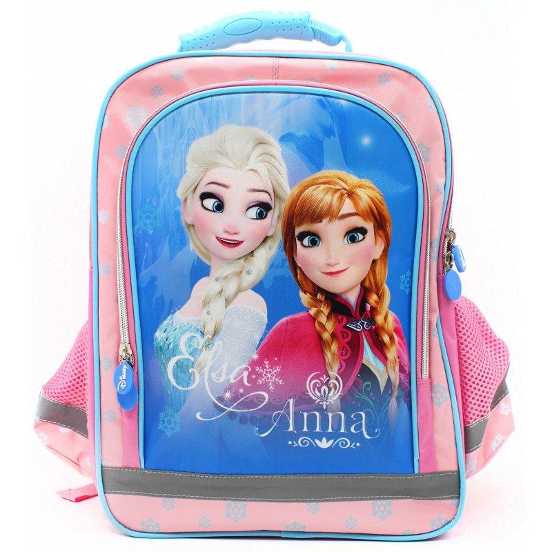 Školní anatomický batoh Ledové království - Frozen - s Annou a Elsou - 37 x 29 x 13 cm