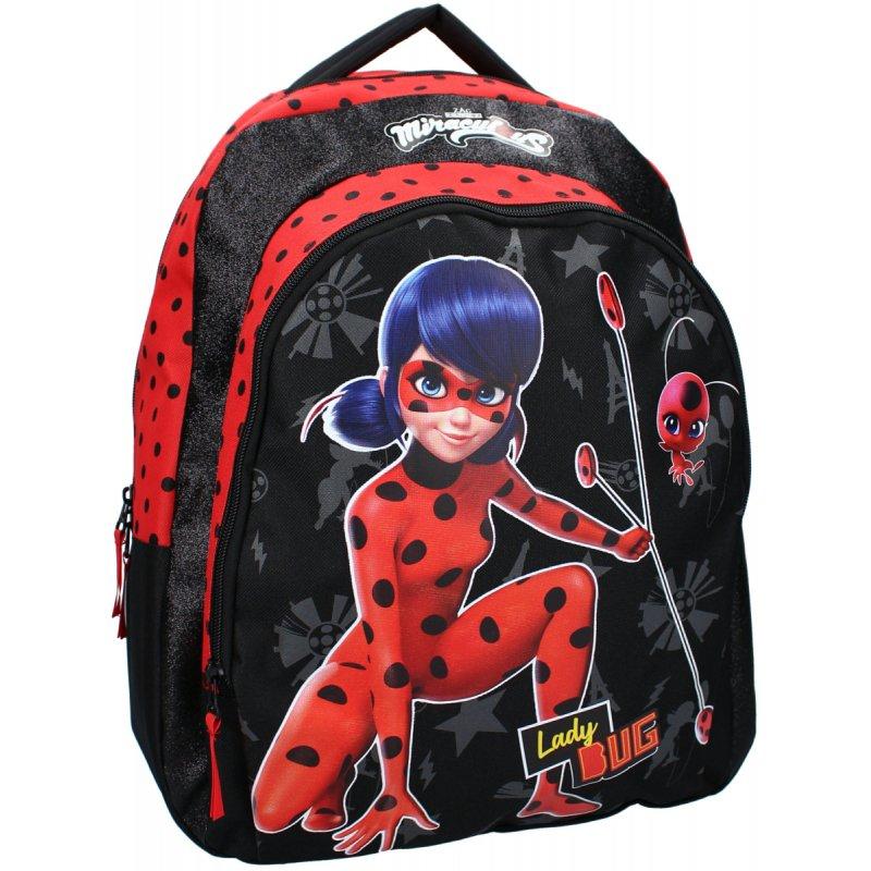 Dívčí školní batoh Kouzelná beruška - Tales of Ladybug - 24L