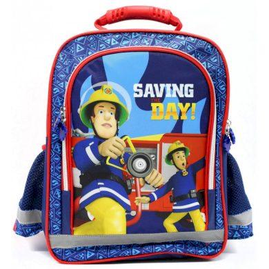Školní anatomický batoh Požárník Sam - Hasič Sam - Fireman Sam, 37 x 29 x 13 cm