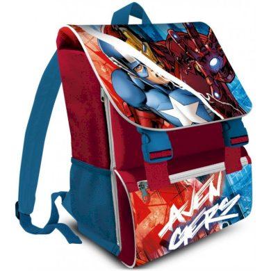 Dětská / chlapecká školní anatomická aktovka Avengers - Kapitán Amerika a Iron Man