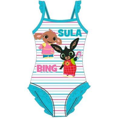 Dětské / dívčí jednodílné plavky Zajíček Bing a Slonice Sula