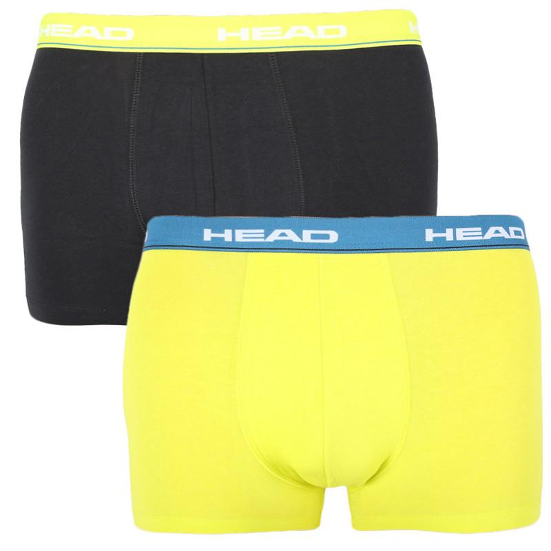 2PACK pánské boxerky HEAD vícebarevné (891003001 008) M
