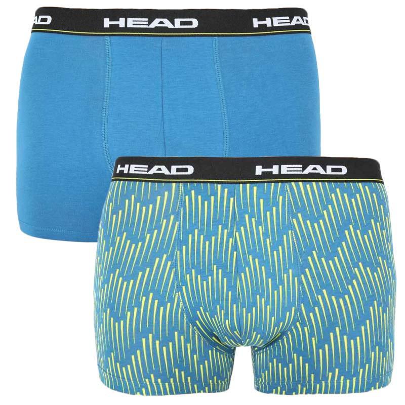 2PACK pánské boxerky HEAD modré (100001415 002) M