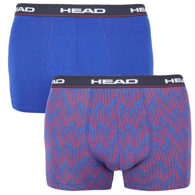 2PACK pánské boxerky HEAD modré (100001415 003) XL