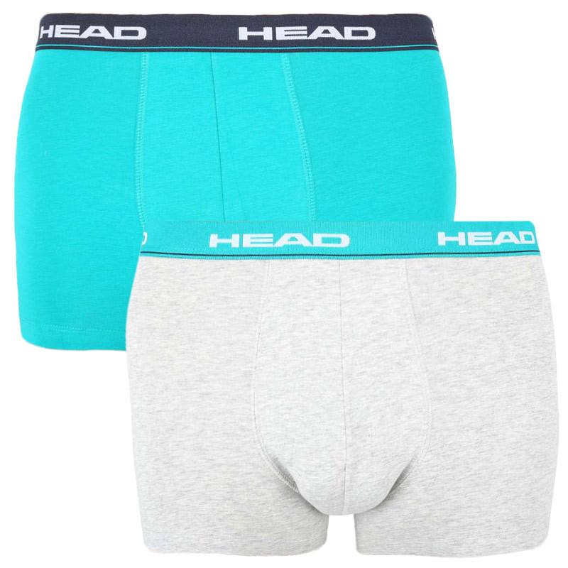 2PACK pánské boxerky HEAD vícebarevné (891003001 007) M