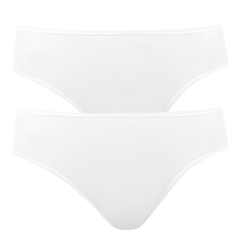 2PACK dámské kalhotky Bellinda bílé (BU822810-030) M