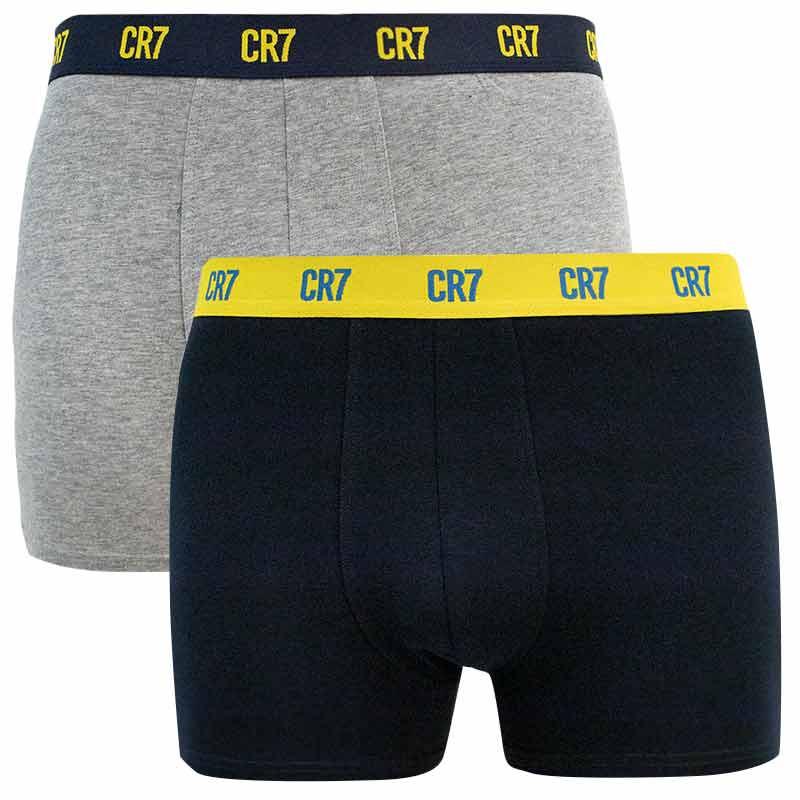 2PACK pánské boxerky CR7 vícebarevné (8302-49-2725) XL