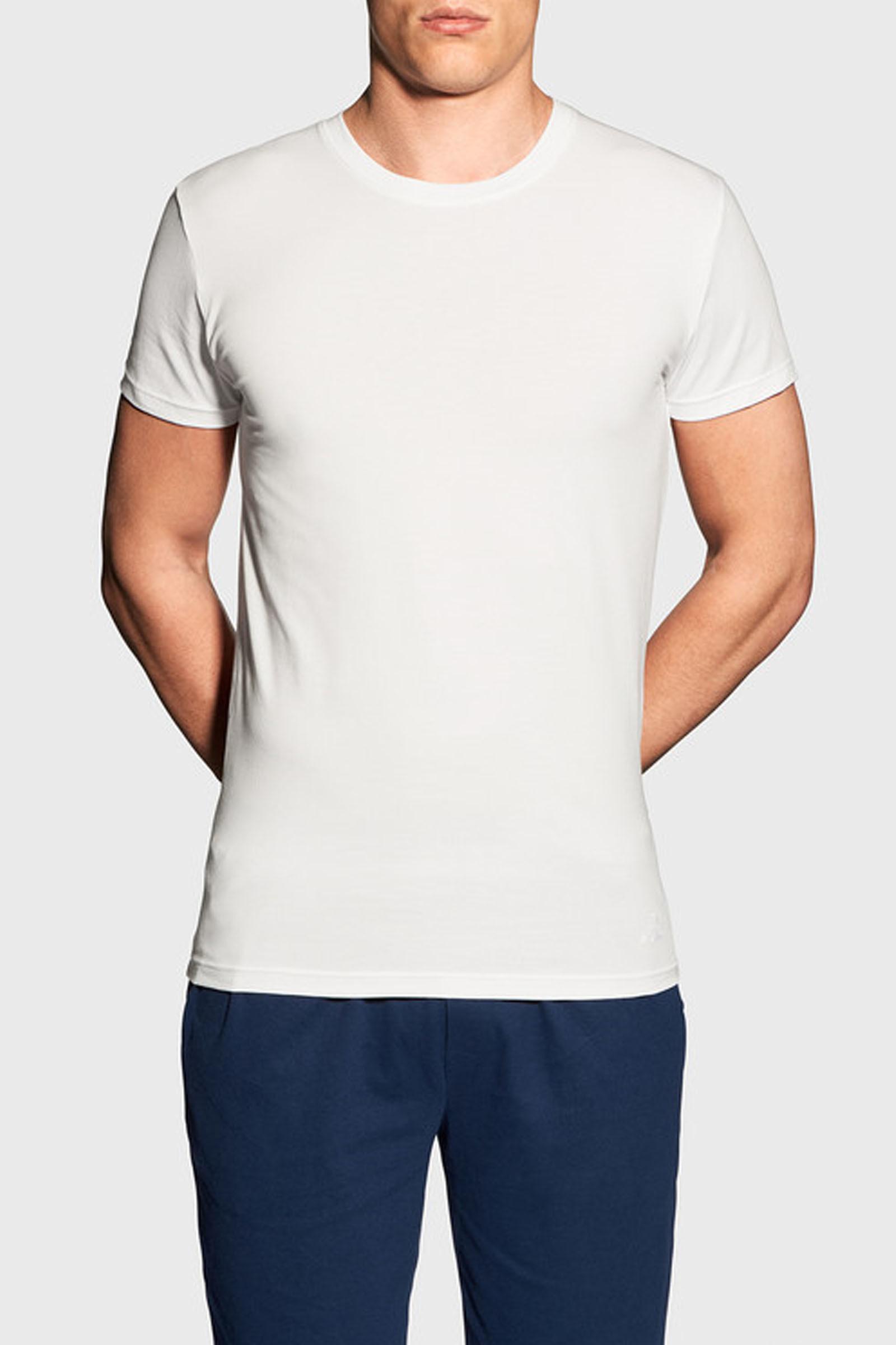 Pánské tričko Gant bílé (901911998-110) L