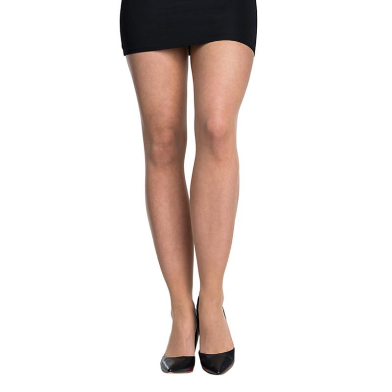 5PACK dámské silonové punčochy Bellinda béžové (290001-0116) L
