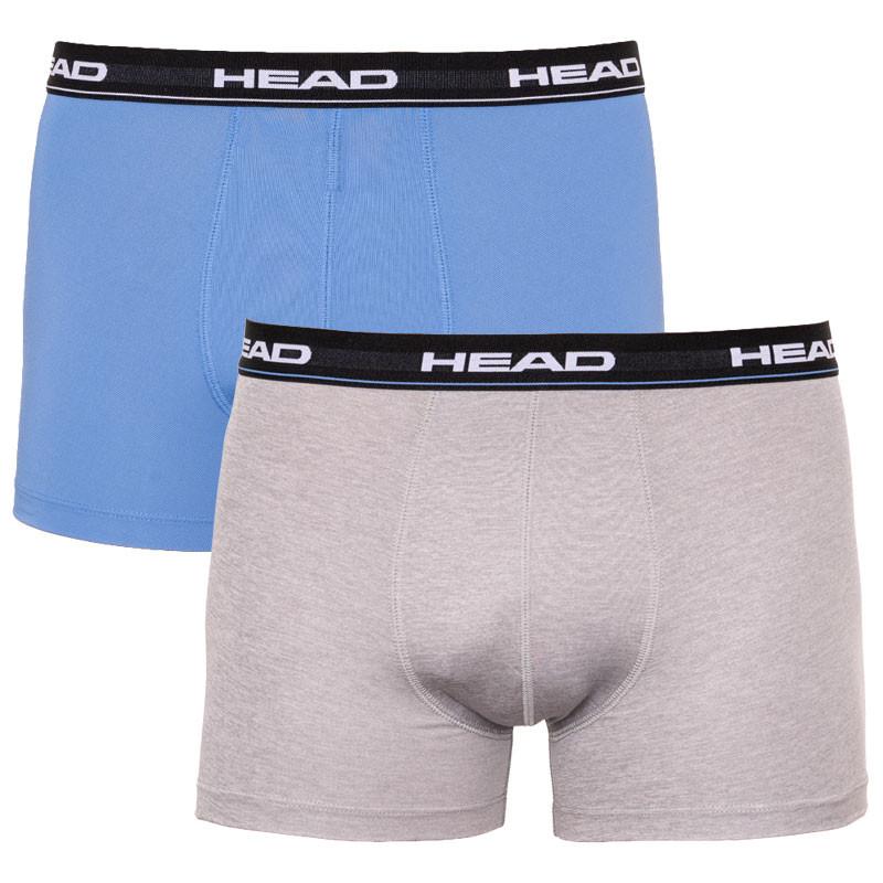 2PACK pánské boxerky HEAD vícebarevné (871001001 277) L
