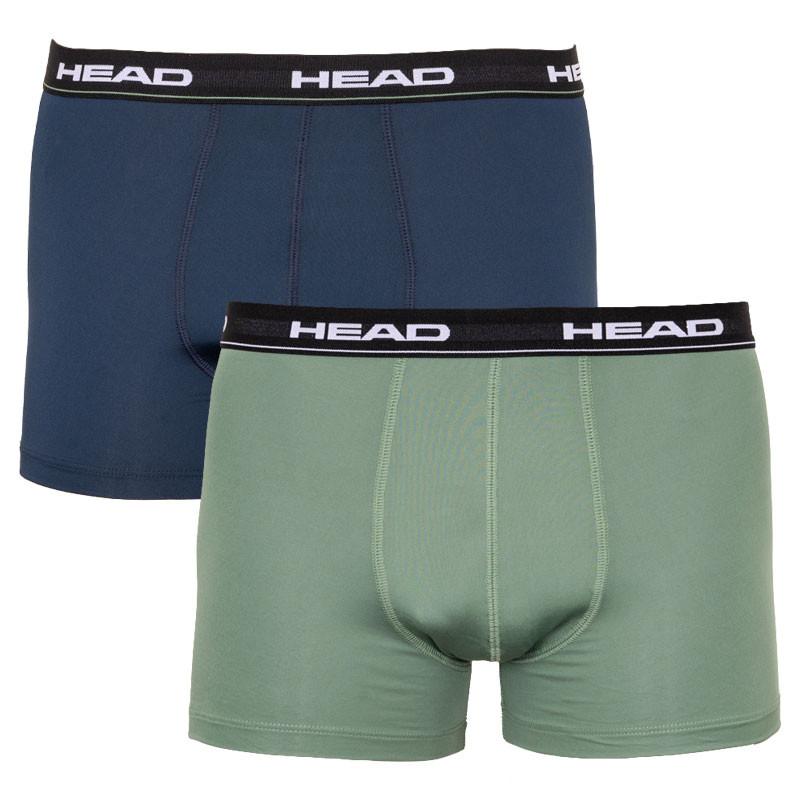 2PACK pánské boxerky HEAD vícebarevné (871001001 226) L