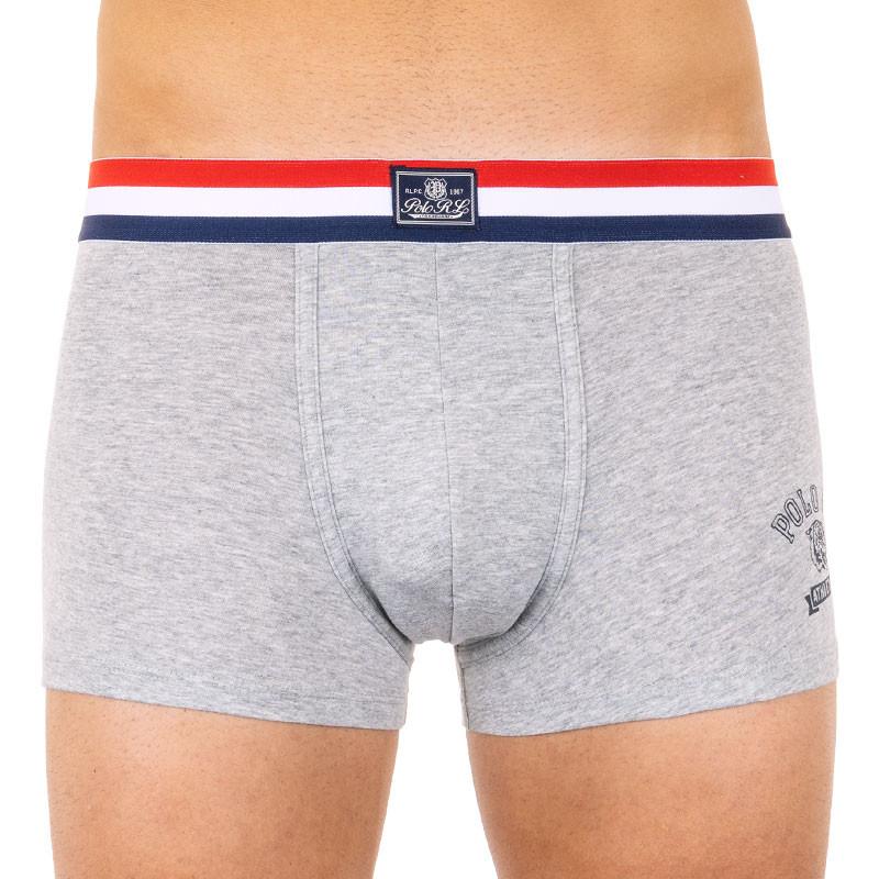 Pánské boxerky Ralph Lauren šedé (714755729003) M