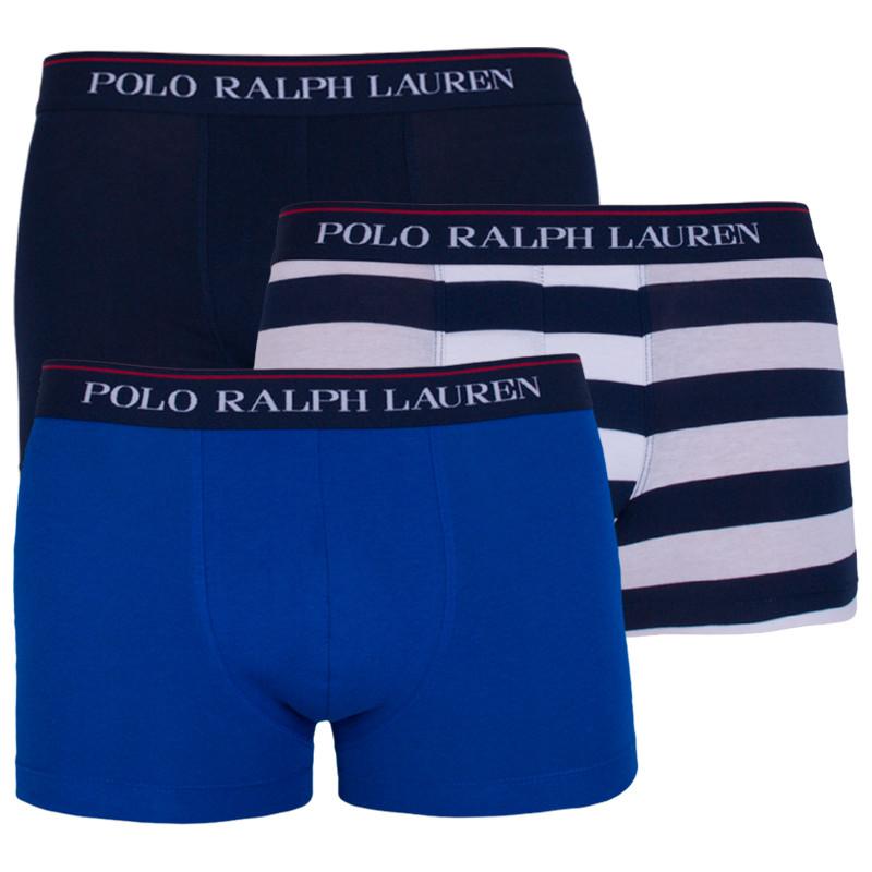 3PACK pánské boxerky Ralph Lauren vícebarevné (714662050029) XL