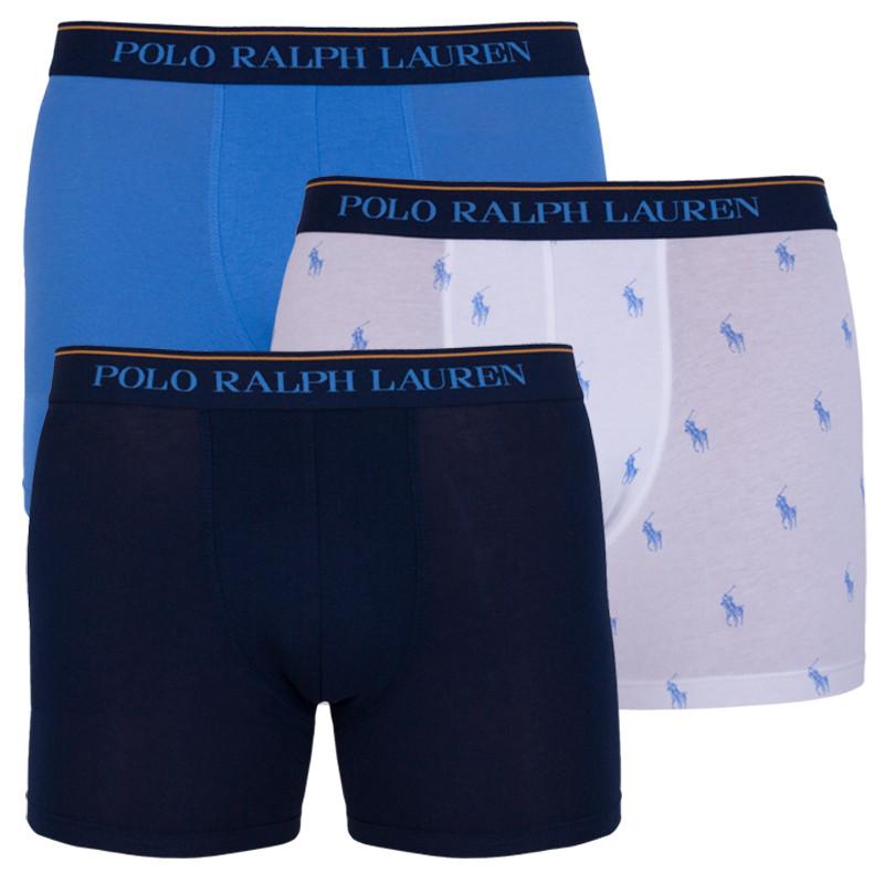 3PACK pánské boxerky Ralph Lauren vícebarevné (714730410001) M