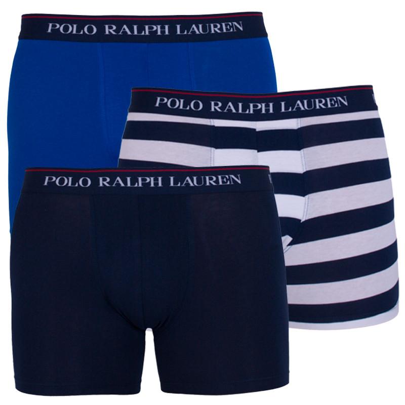 3PACK pánské boxerky Ralph Lauren vícebarevné (714730410003) M