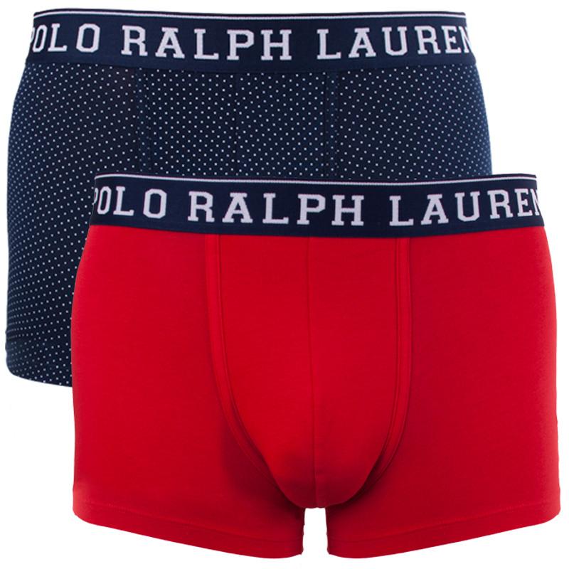 2PACK pánské boxerky Ralph Lauren vícebarevné (714707458003) M