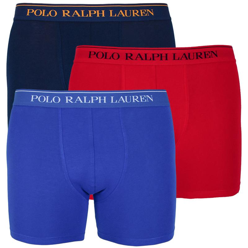 3PACK pánské boxerky Ralph Lauren vícebarevné (714713772003) S