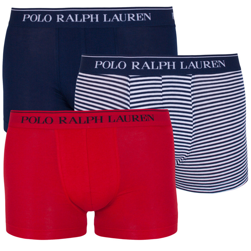 3PACK pánské boxerky Ralph Lauren vícebarevné (714662050008) M