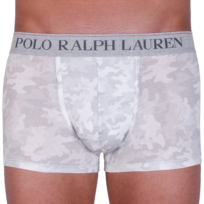 Pánské boxerky Ralph Lauren šedé (714684604006) M