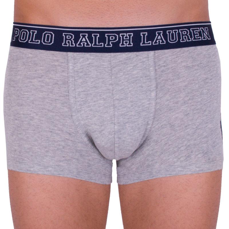 Pánské boxerky Ralph Lauren šedé (714684602007) L
