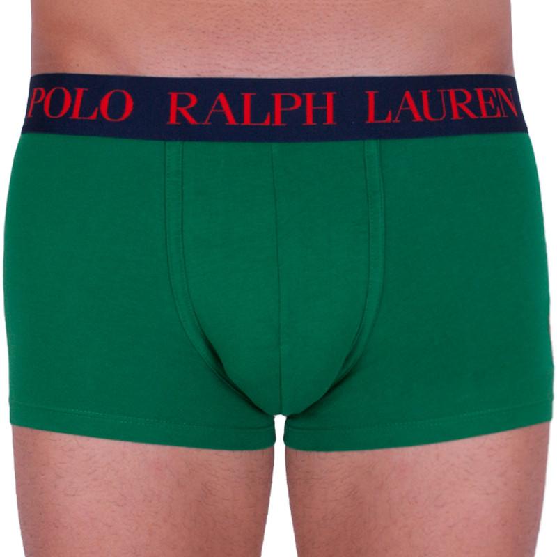 Pánské boxerky Ralph Lauren zelené (714661553005) M
