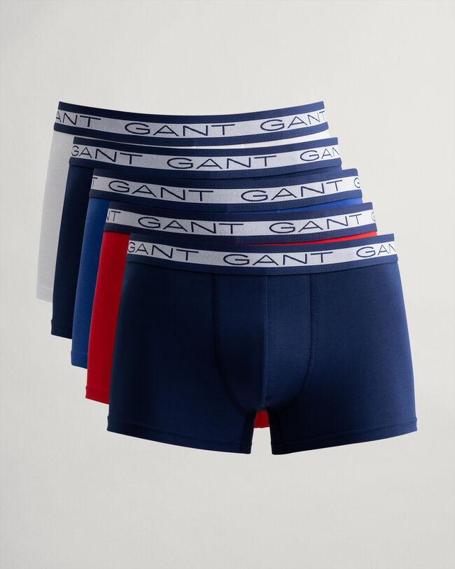 5PACK pánské boxerky Gant vícebarevné (902035553-105) XL