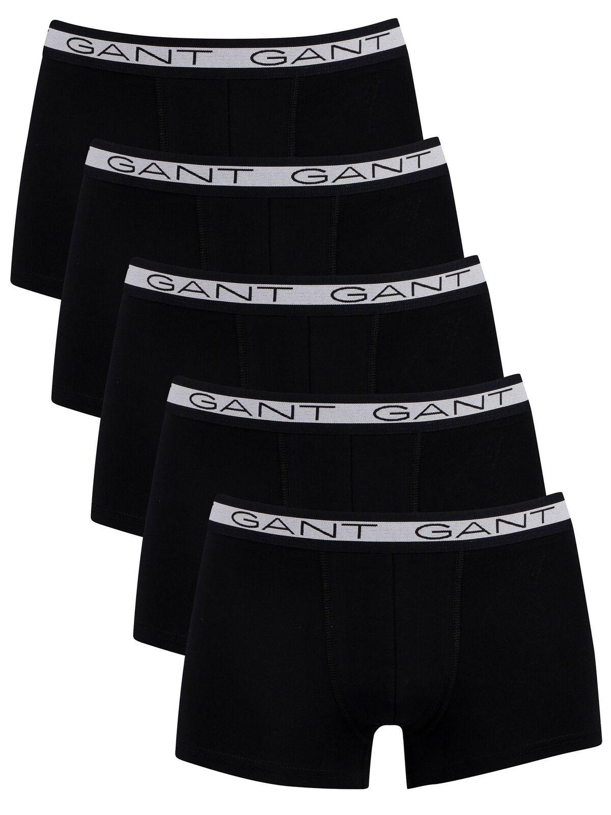 5PACK pánské boxerky Gant černé (902035553-005) XL