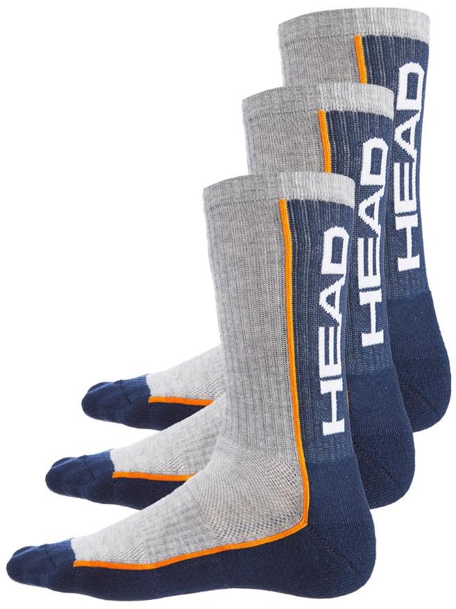 3PACK ponožky HEAD vícebarevné (791011001 870) S