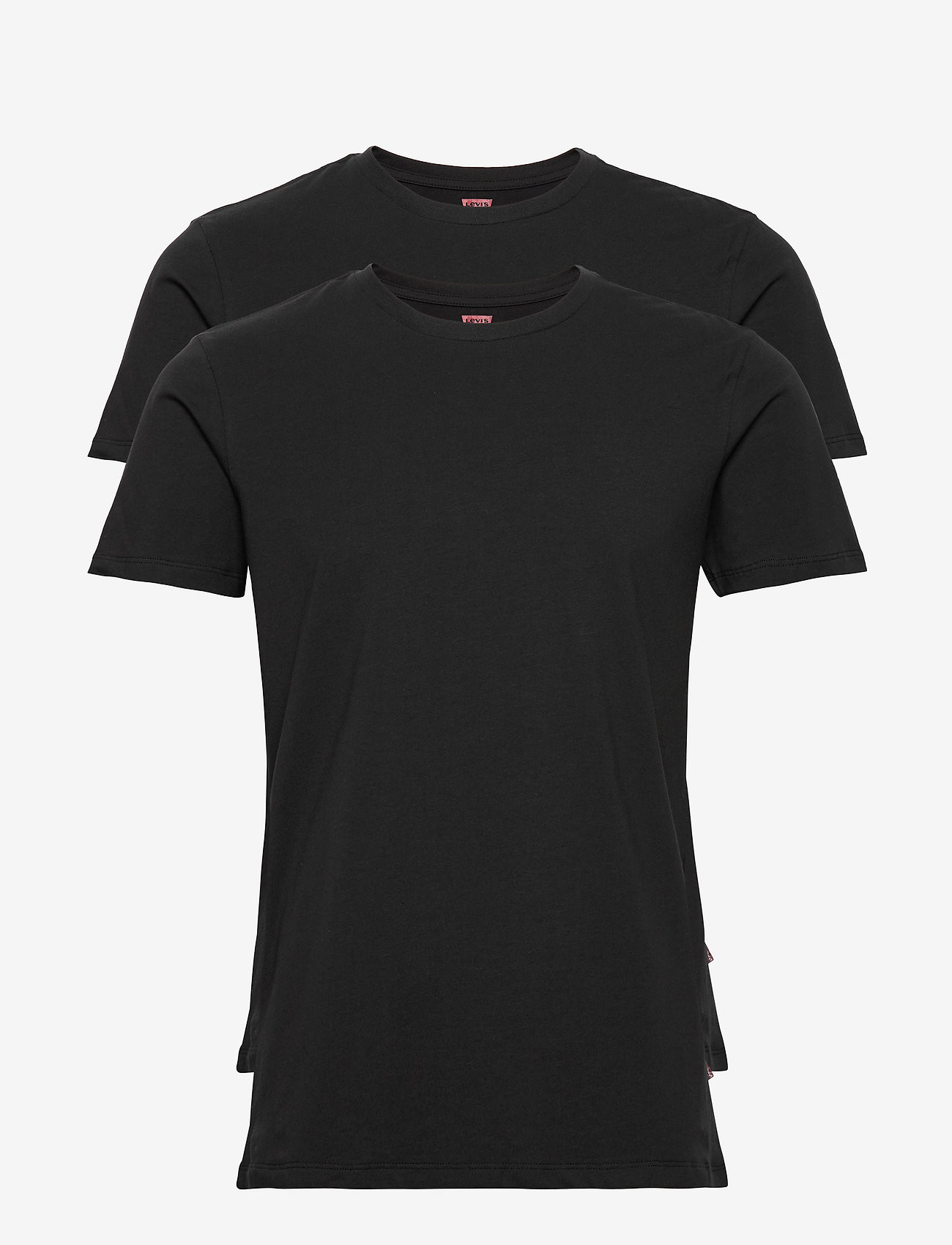 2PACK pánské tričko Levis Crew-neck černé (905055001 884) L