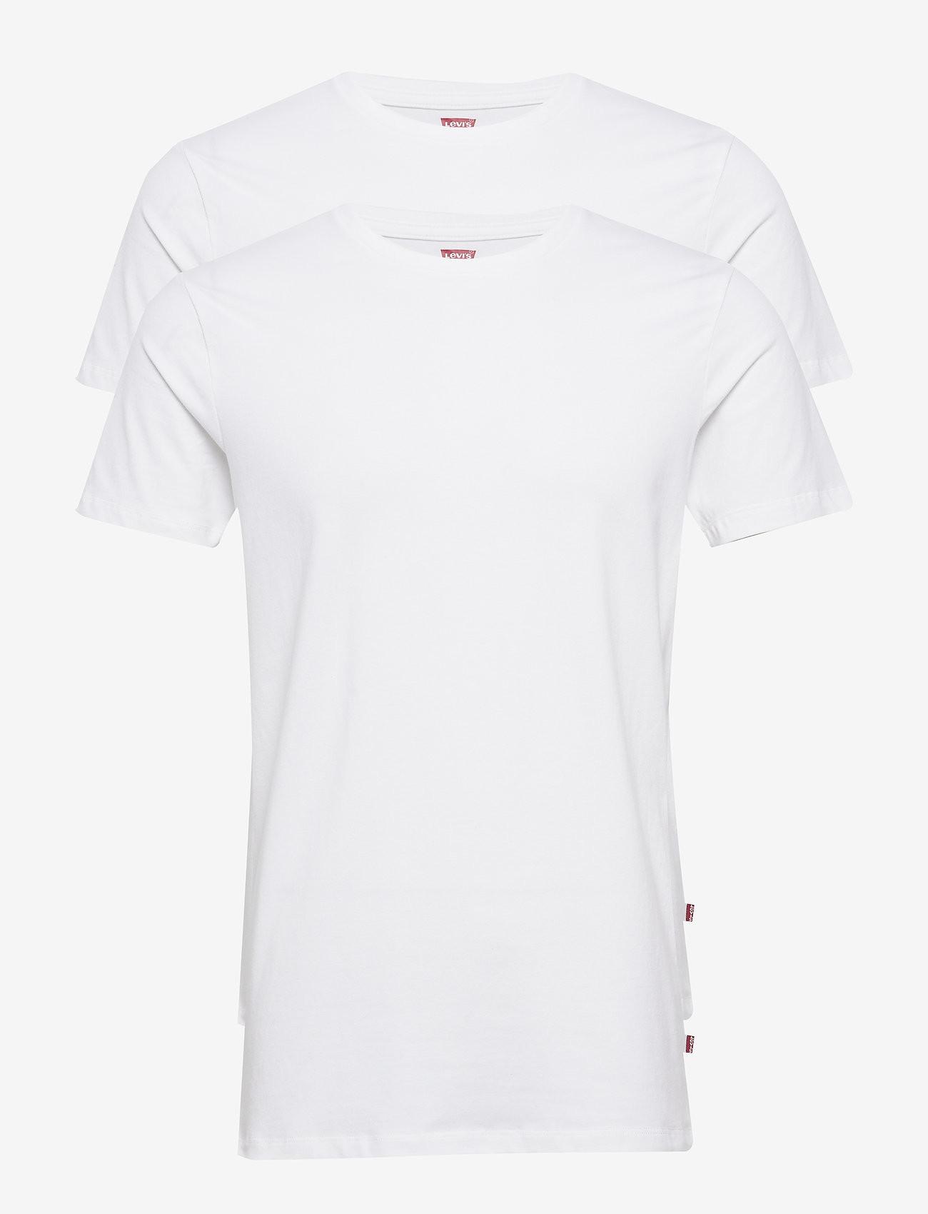 2PACK pánské tričko Levis Crew-neck bílé (905055001 300) M