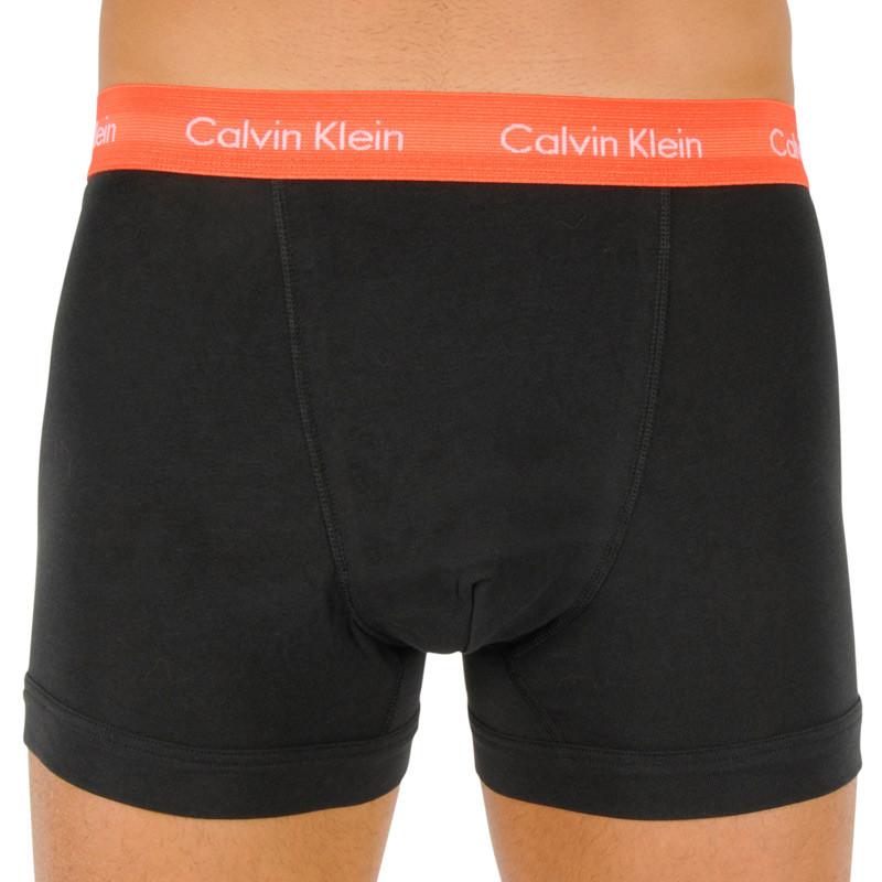3PACK pánské boxerky Calvin Klein černé (U2662G-WHD) L