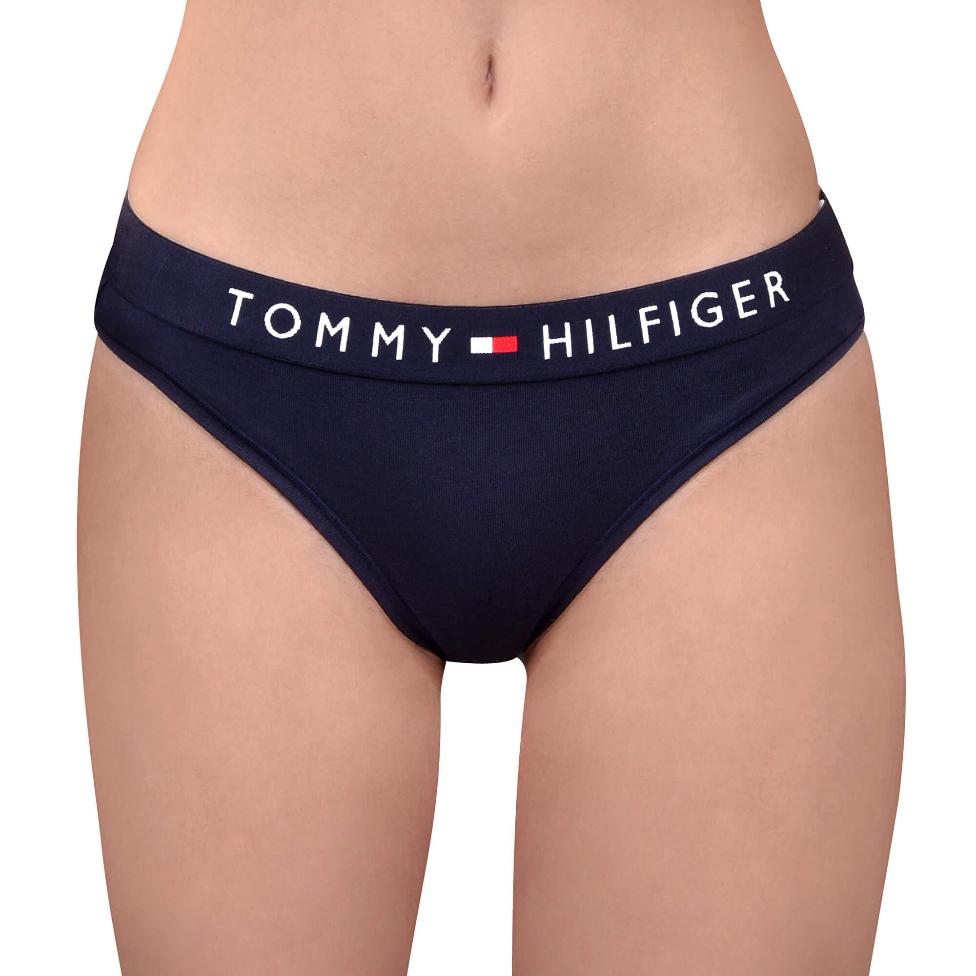Dámské kalhotky Tommy Hilfiger tmavě modré (UW0UW01566 416) L
