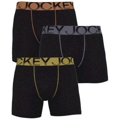 3PACK pánské boxerky Jockey vícebarevné (17301766 498) XXL
