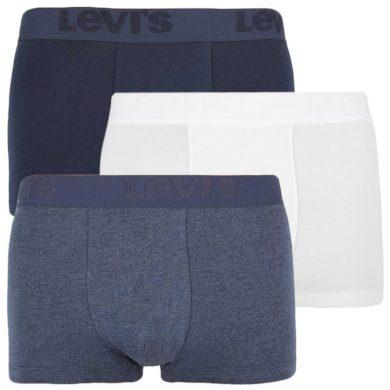 3PACK pánské boxerky Levis vícebarevné (905042001 009) L