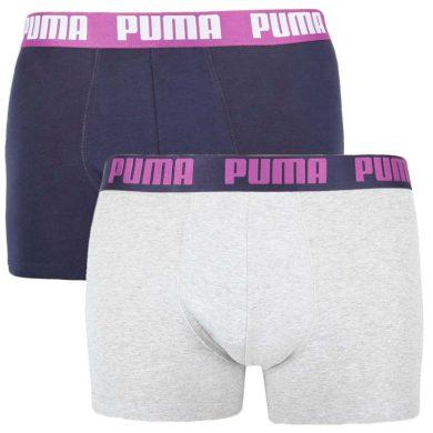 2PACK pánské boxerky Puma vícebarevné (521015001 014) XXL