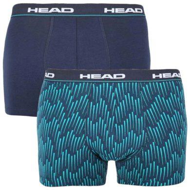 2PACK pánské boxerky HEAD modré (100001415 001) L