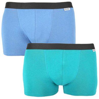 2PACK pánské boxerky Nur Der vícebarevné (827756 - mintg/blau) M