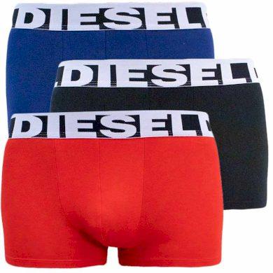 3PACK pánské boxerky Diesel vícebarevné (00SAB2-0PAWE-E5066) XXL
