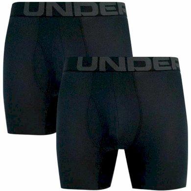 2PACK pánské boxerky Under Armour černé (1363619 001) M
