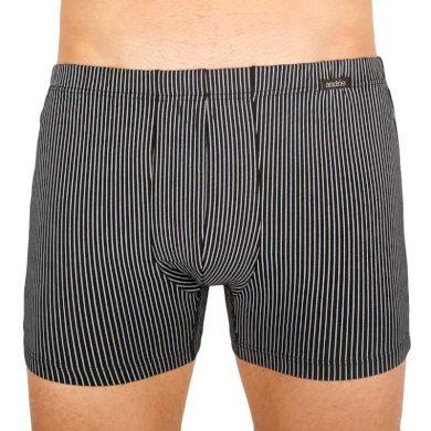 Pánské boxerky Andrie černé (PS 5541 C) XXL
