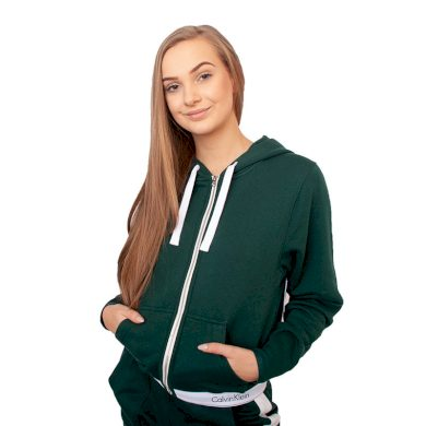 Dámská mikina Calvin Klein zelená (QS5667E-CP2) M