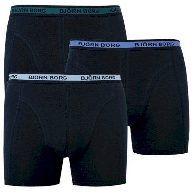 3PACK pánské boxerky Bjorn Borg černé (2031-1281-90651) XL
