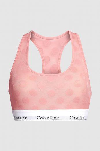 Dámská podprsenka Calvin Klein oranžová (QF5847E-GDS) L