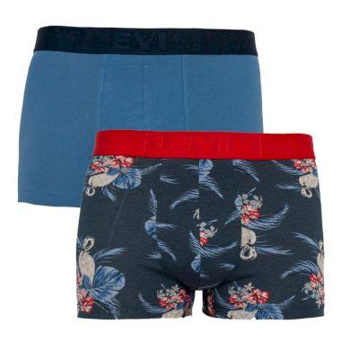 2PACK pánské boxerky Levis modré (905031001 003) XL