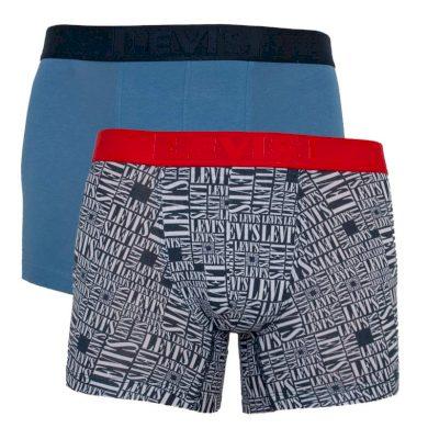 2PACK pánské boxerky Levis vícebarevné (905022001 003) XL